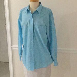 Fox Croft Wrinkle-free Sz12 button up blouse
